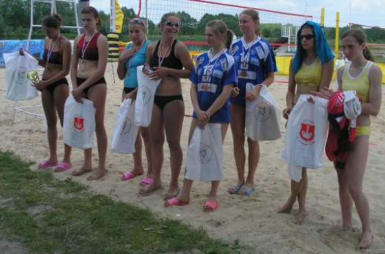 plażówka kadetki 2006
