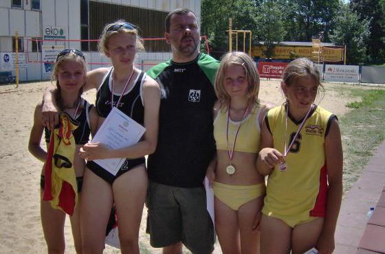 plażówka młodziczki 2006