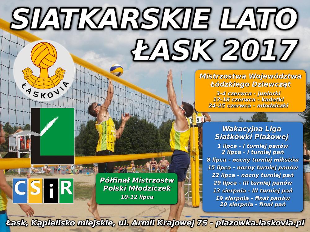 Siatkarskie lato - Łask 2017